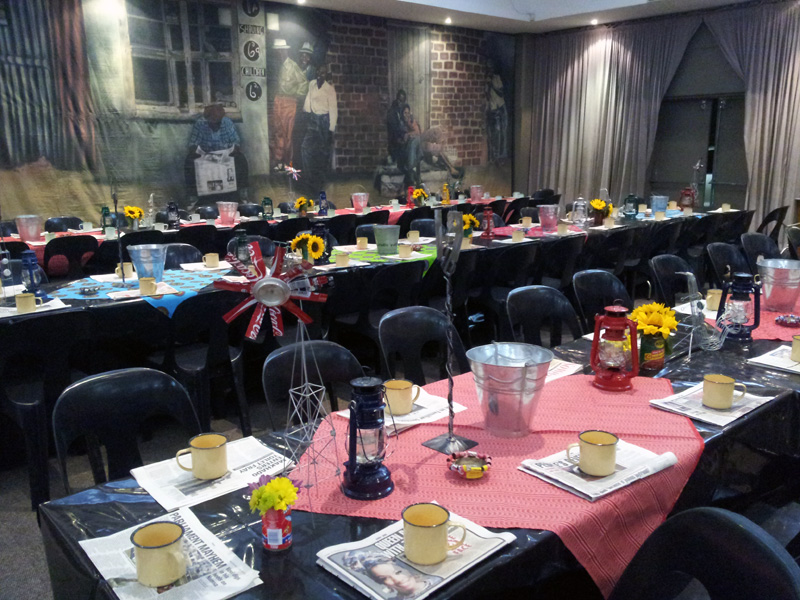 Bar Mitzvah Party Ideas African Frenzy