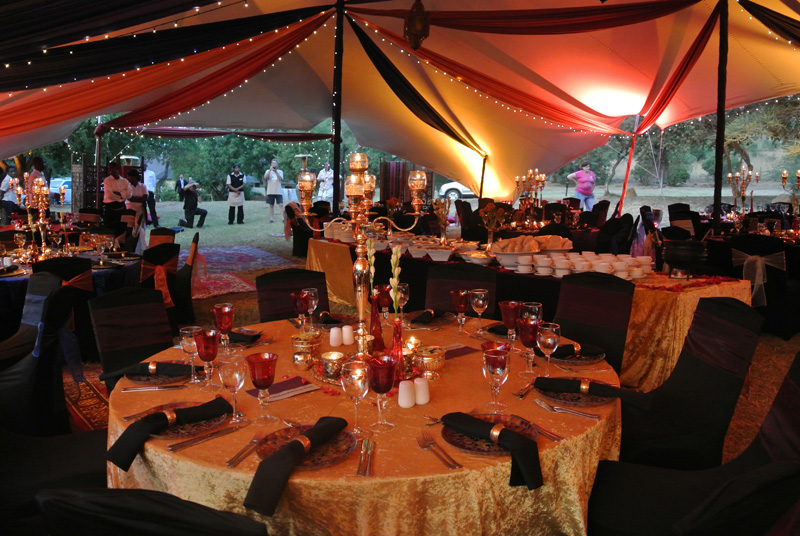 Event decor african frenzy for African party decoration ideas