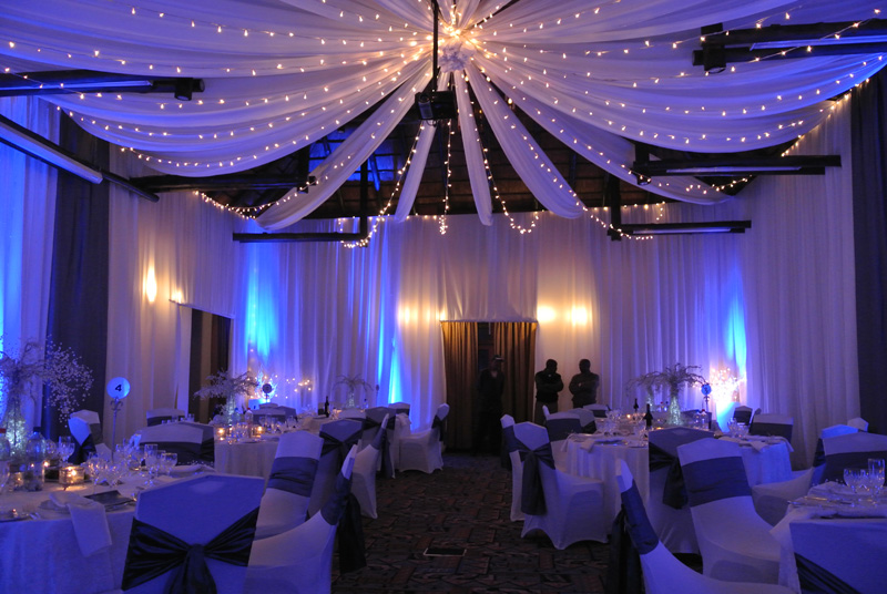 Green And Blue Decorating Ideas For An Event 40