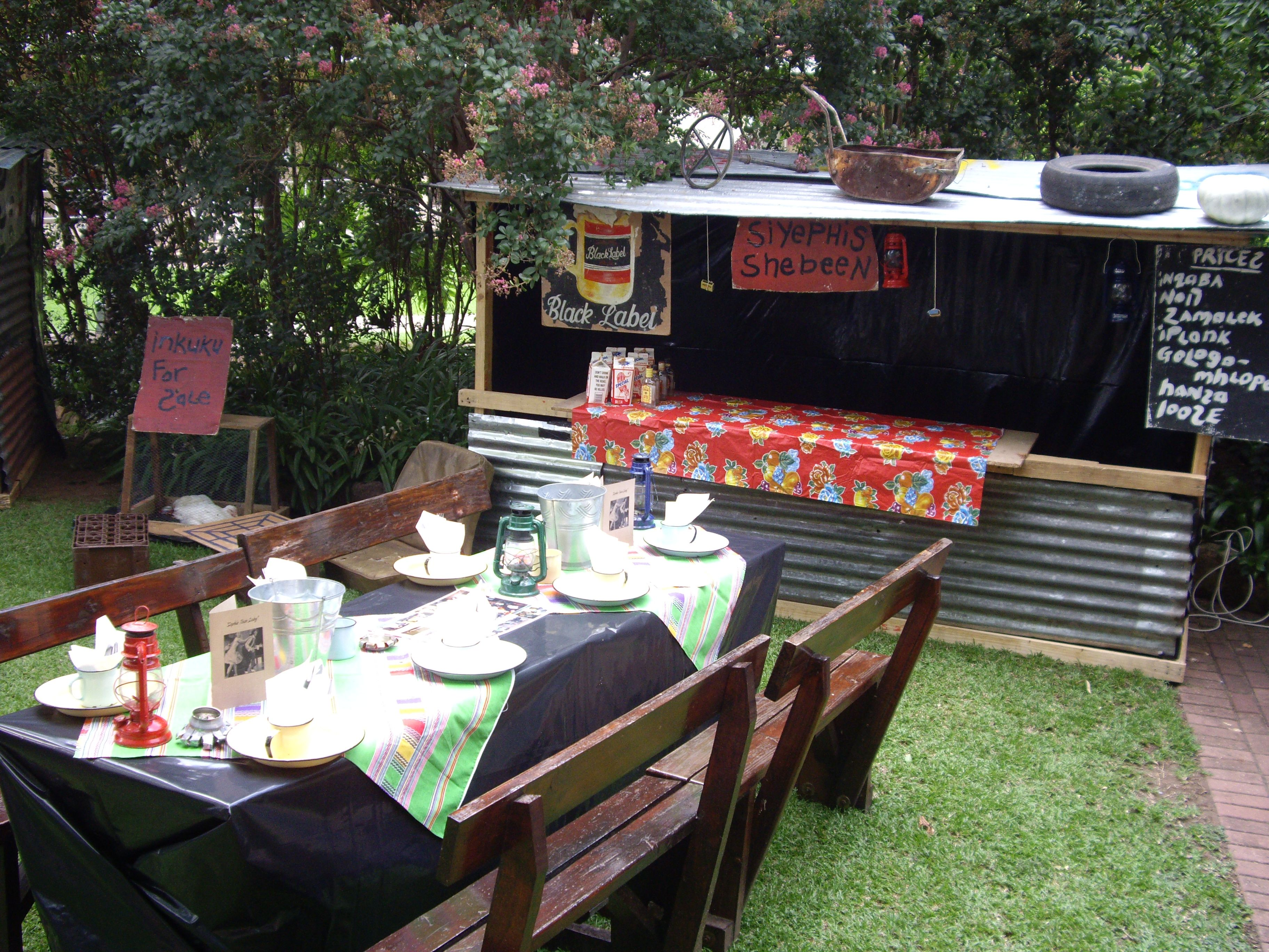 Shebeen Theme Party, Events - African Frenzy